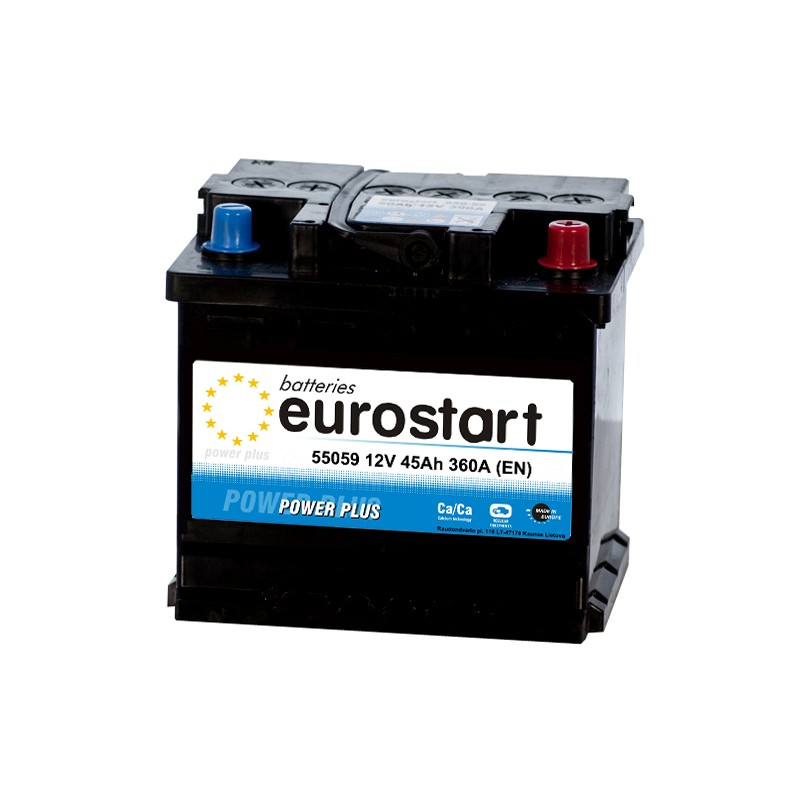 EUROSTART POWER PLUS 55059 50Ah akumuliatorius