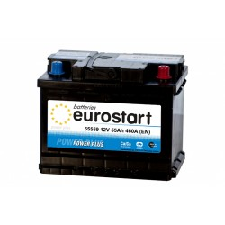 EUROSTART POWER PLUS 55559 55Ач аккумулятор