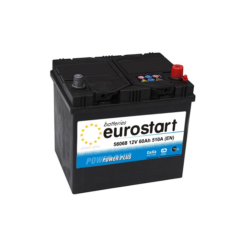 EUROSTART POWER PLUS 56068 60Ач аккумулятор