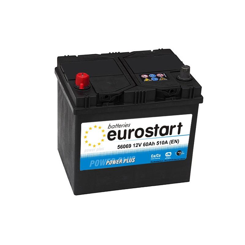 EUROSTART POWER PLUS 56069 60Ah akumuliatorius