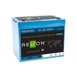 RELION RB48V25 48V 25Ah Lithium Ion akumuliatorius