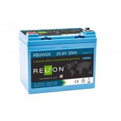 RELION RB24V20 24V 20Ah Lithium Ion akumuliatorius