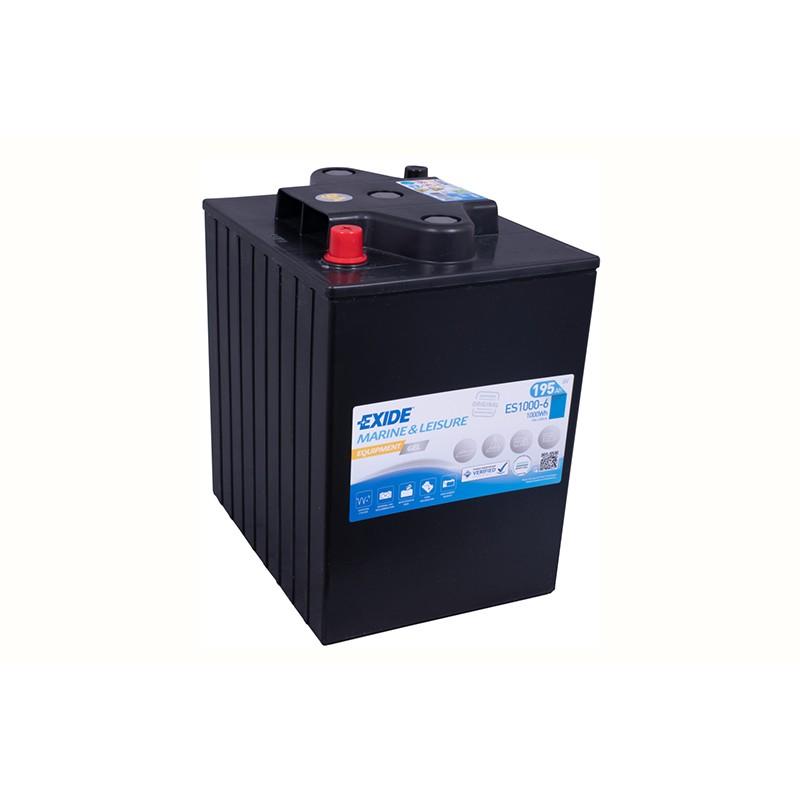 EXIDE GEL ES1000 (6V) 190Ah battery