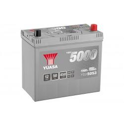 YUASA YBX5053 Silver 48Ah 430A akumuliatorius