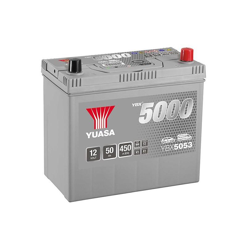 YUASA YBX5053 Silver 48Ah 430A battery