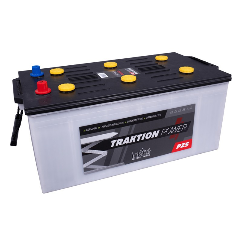 intAct 12TP180 Traction Power PZS 240Ah battery
