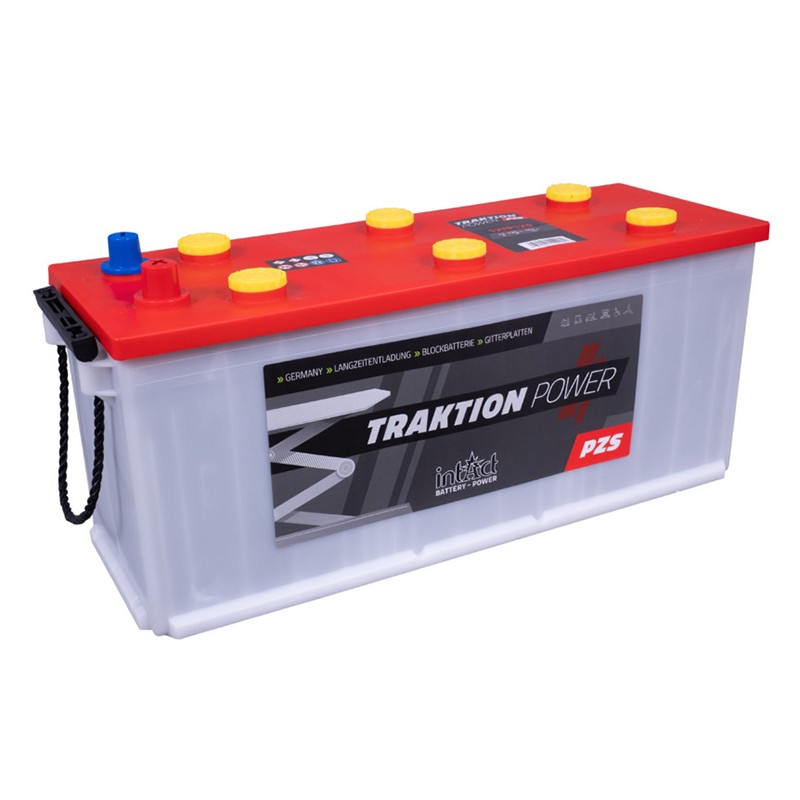 intAct 12TP150 Traction Power PZS 200Ah akumuliatorius