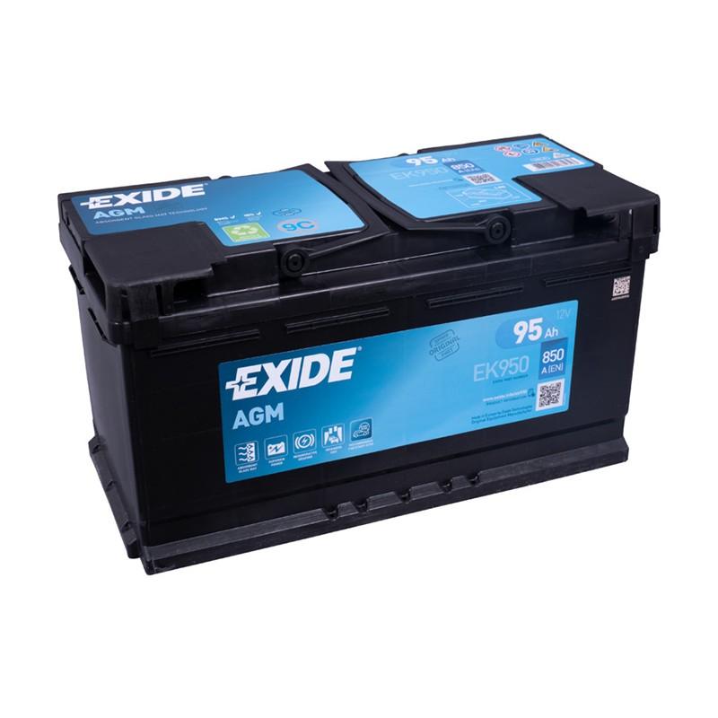 EXIDE EK920 92Ah MicroHybrid AGM battery