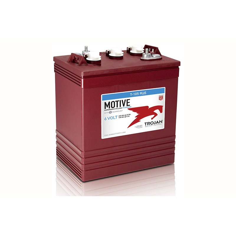 TROJAN T105 PLUS 225Ah deep cycle battery