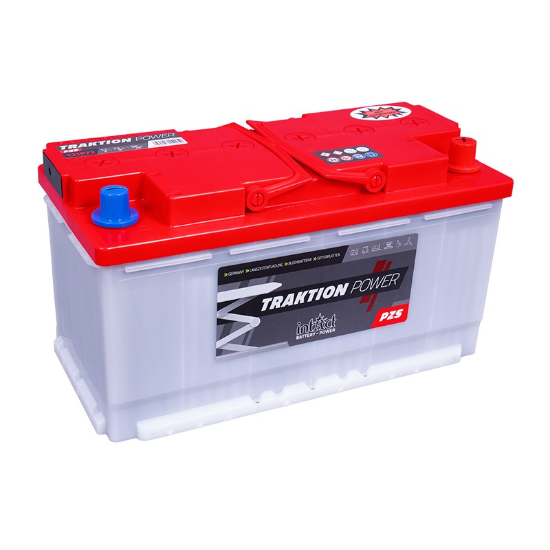 intAct 12TP72 Traction Power PZS 96Ah battery