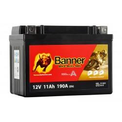 Banner GEL 11Ah 172A Bike Bull akumuliatorius 12V 150x87x110mm