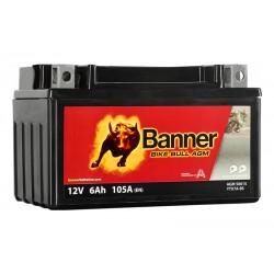 Banner AGM 6Ah 105A Bike Bull akumuliatorius 12V 150x87x95mm