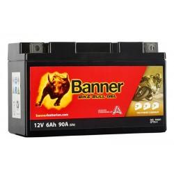 Banner GEL 6Ah 90A Bike Bull akumuliatorius 12V 150x65x92mm