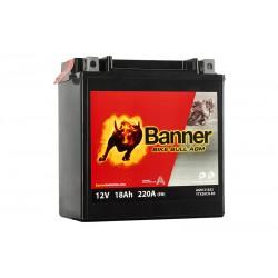 Banner AGM 18Ah 220A Bike Bull akumuliatorius 12V 150x87x161mm
