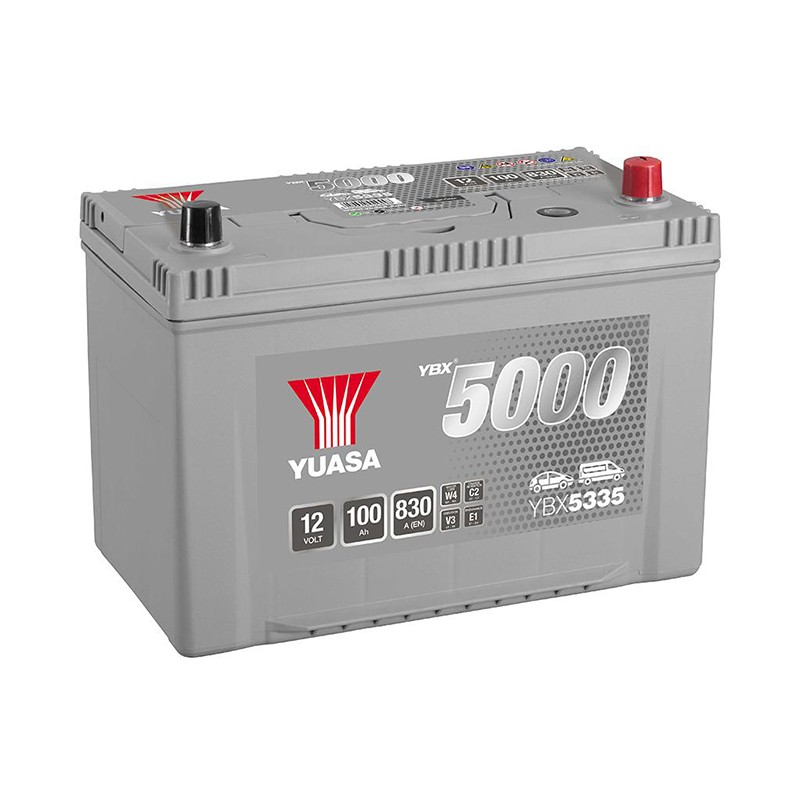 YUASA YBX5335 Silver 95Ah 830A akumuliatorius