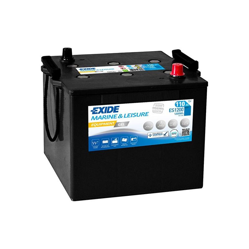 EXIDE GEL ES1200 110Ah battery