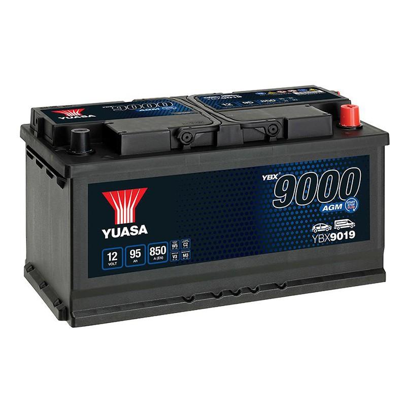 YUASA YBX9019 95Ah AGM akumuliatorius
