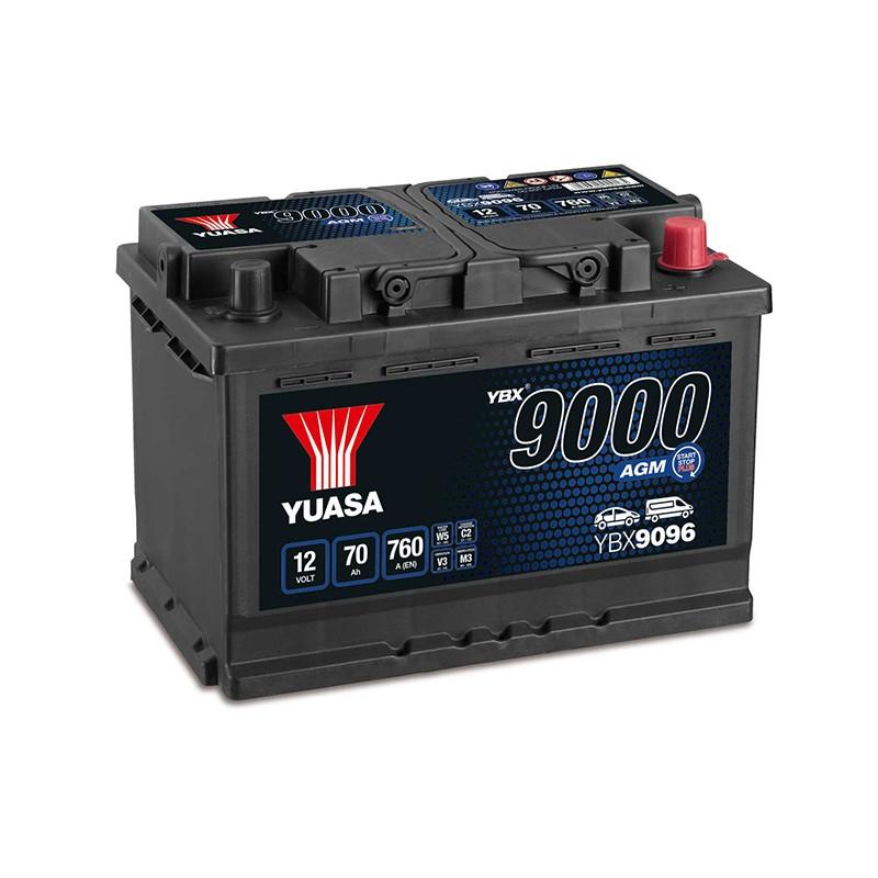 YUASA YBX9096 70Ah AGM akumuliatorius