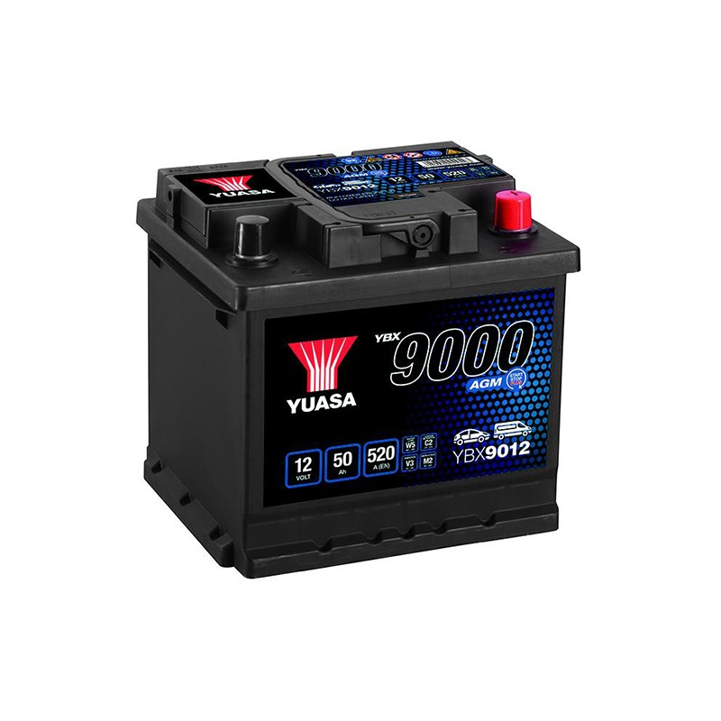 YUASA YBX9012 50Ah AGM akumuliatorius