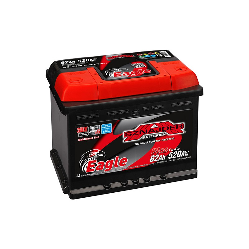 SZNAJDER PLUS 56259 62Ah battery