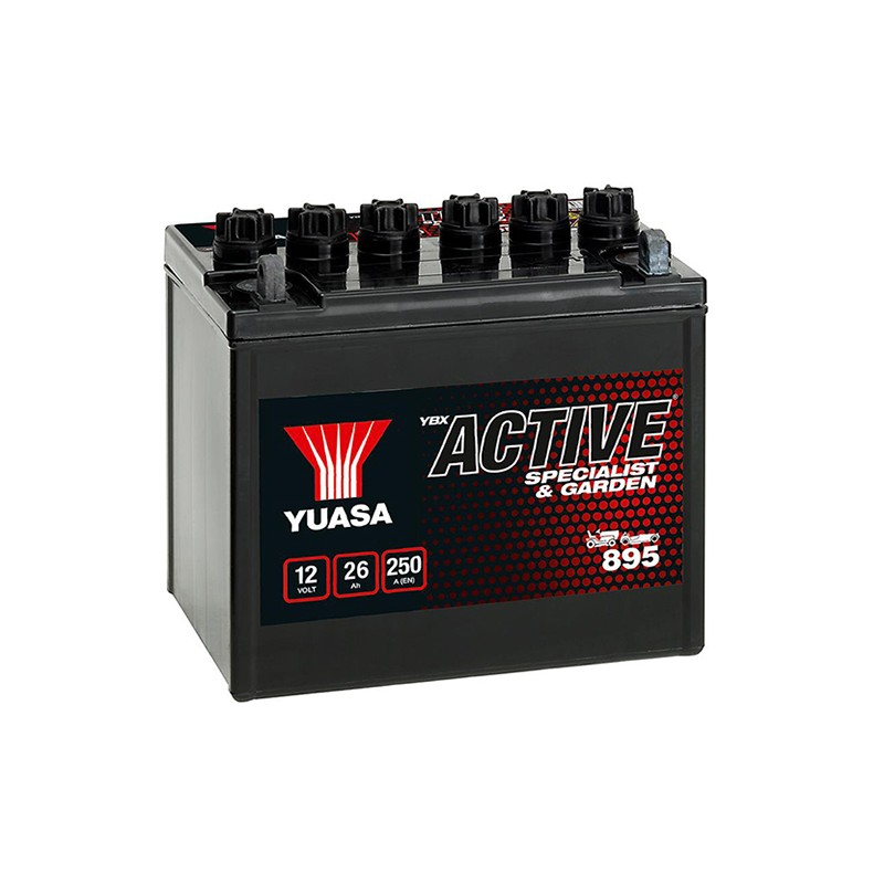 YUASA 895 (53030) 12В 26Ач аккумулятор