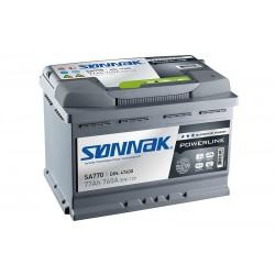 SONNAK SA770 77Ah battery