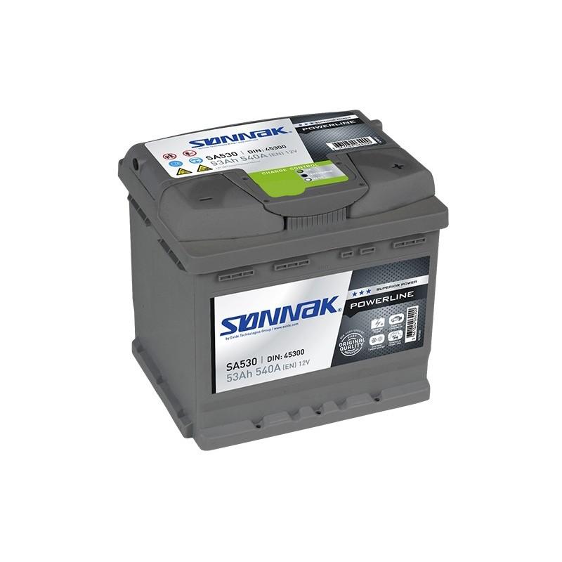 SONNAK SA530 53Ah battery