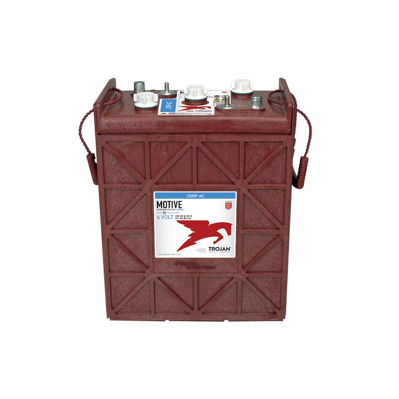 TROJAN J305P-AC 330Ah deep cycle battery