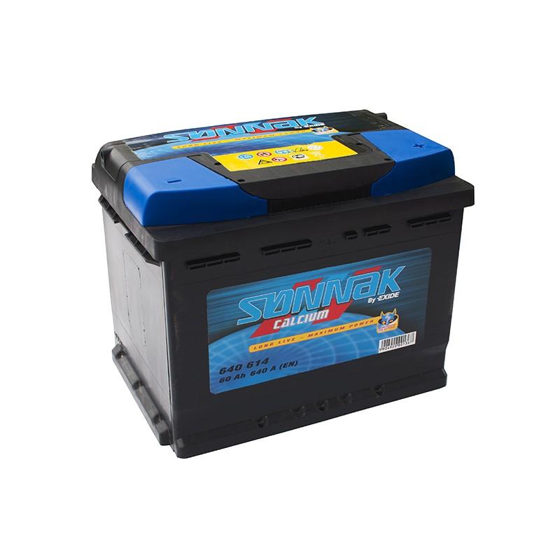 SONNAK 640614 60Ач аккумулятор