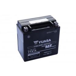 YUASA YTX14-BS 12.6Ah (C20) akumuliatorius