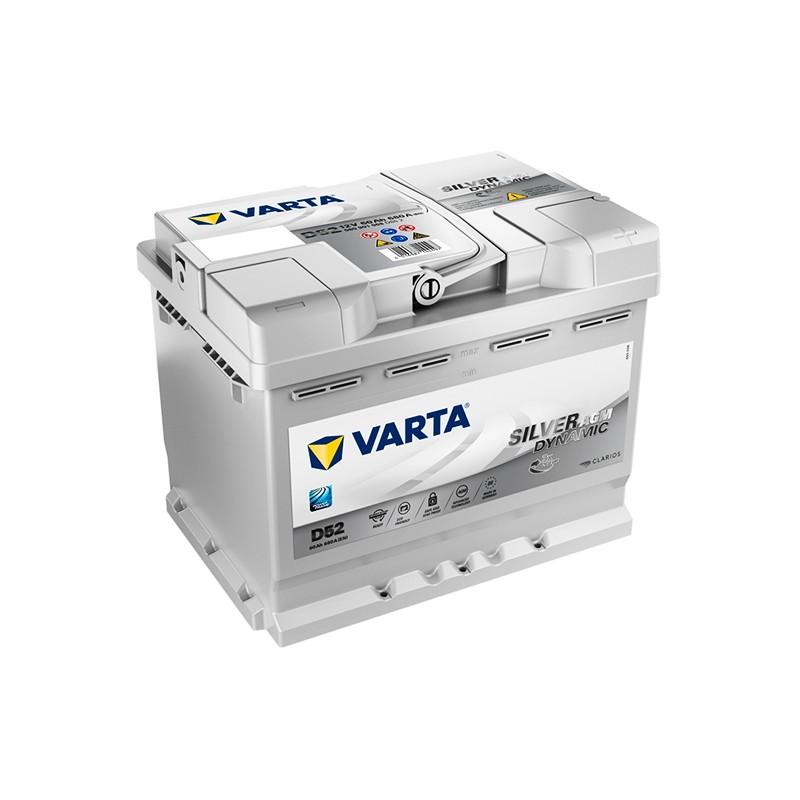 VARTA START STOP PLUS D52 (560901068) 60Ah AGM battery