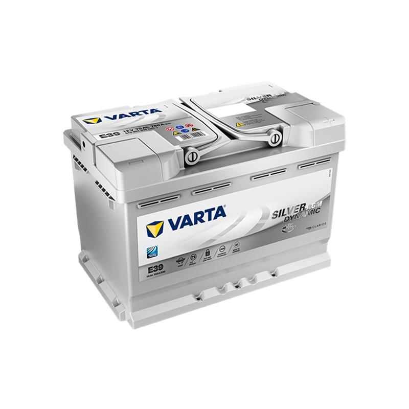 VARTA START STOP PLUS E39 (570901076) 70Ah AGM akumuliatorius