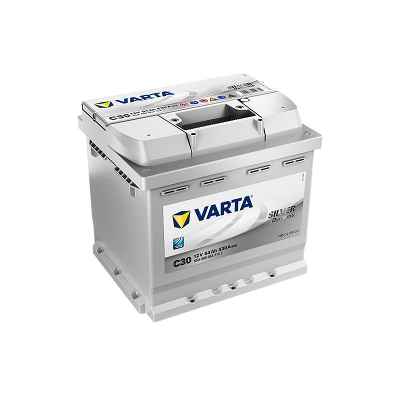 VARTA Silver Dynamic C30 (554400053) 54Ah battery