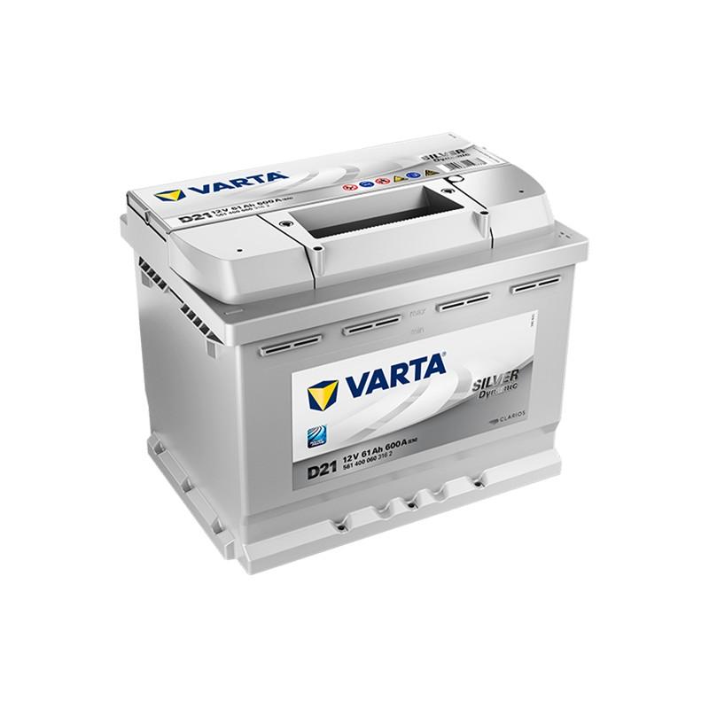 VARTA Silver Dynamic D21 (561400060) 61Ah battery