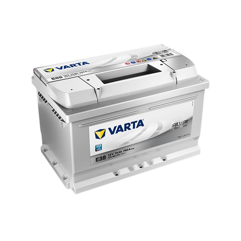 VARTA Silver Dynamic E38 (574402075) 74Ah akumuliatorius