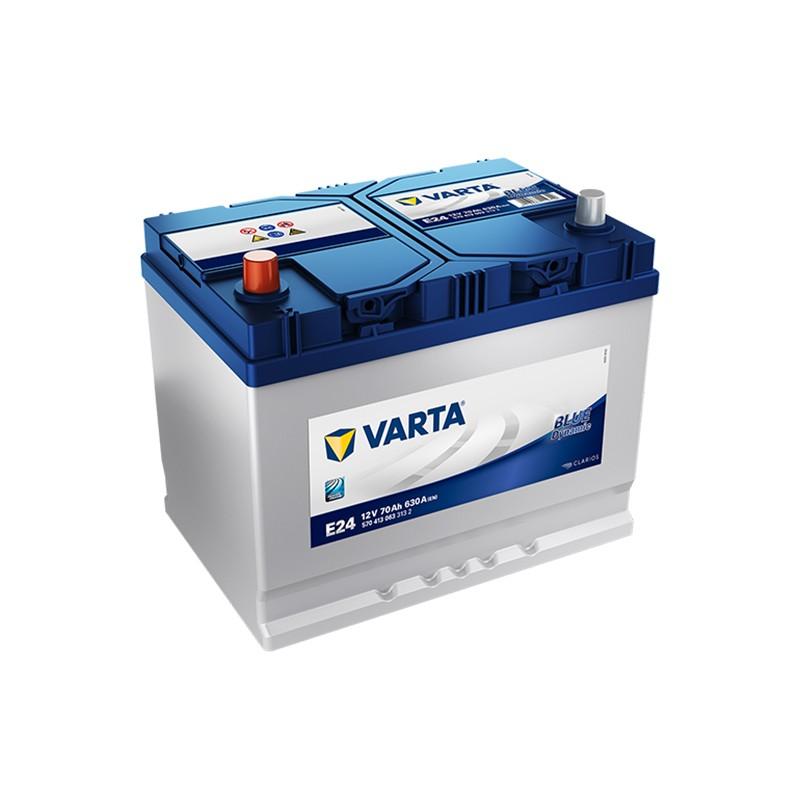 VARTA Blue Dynamic E24 (570413063) 70Ah akumuliatorius