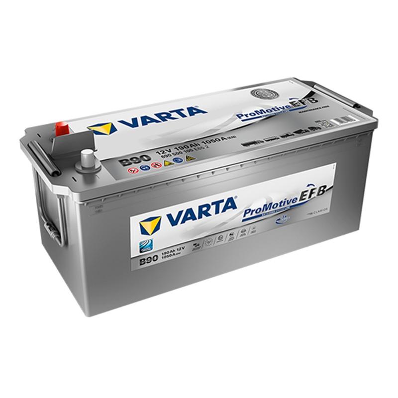 VARTA Super Heavy Duty PROMOTIVE EFB B90 (690500105) 190Ah akumuliatorius