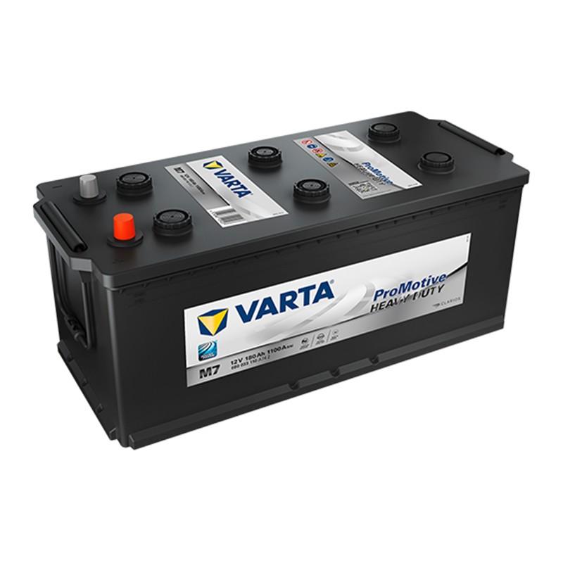 VARTA Heavy Duty PROMOTIVE BLACK M7 (680033110) 180Ah akumuliatorius