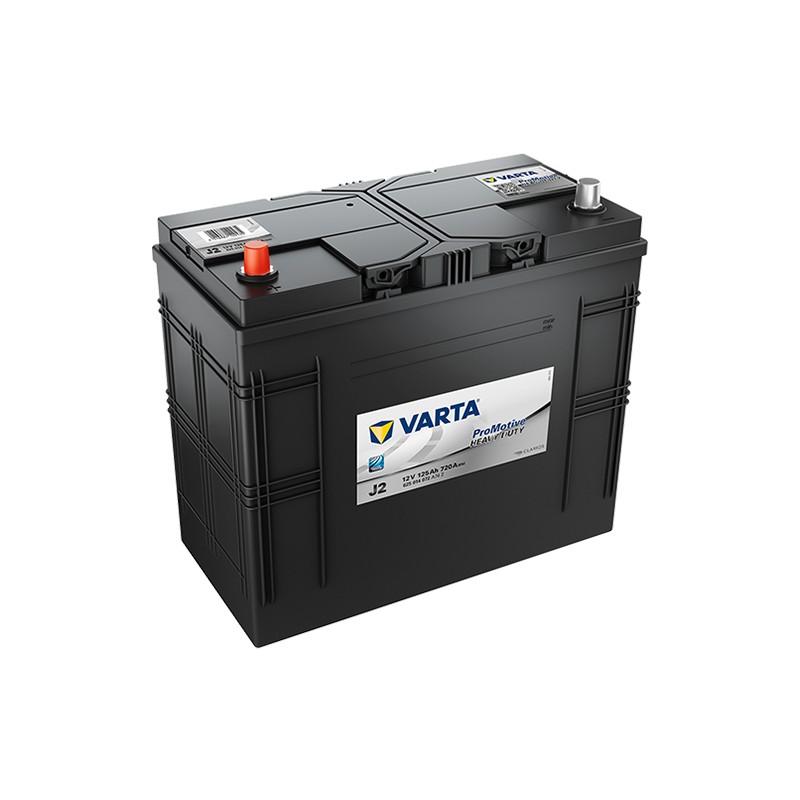 VARTA Heavy Duty J2 (62514) 125Ah akumuliatorius