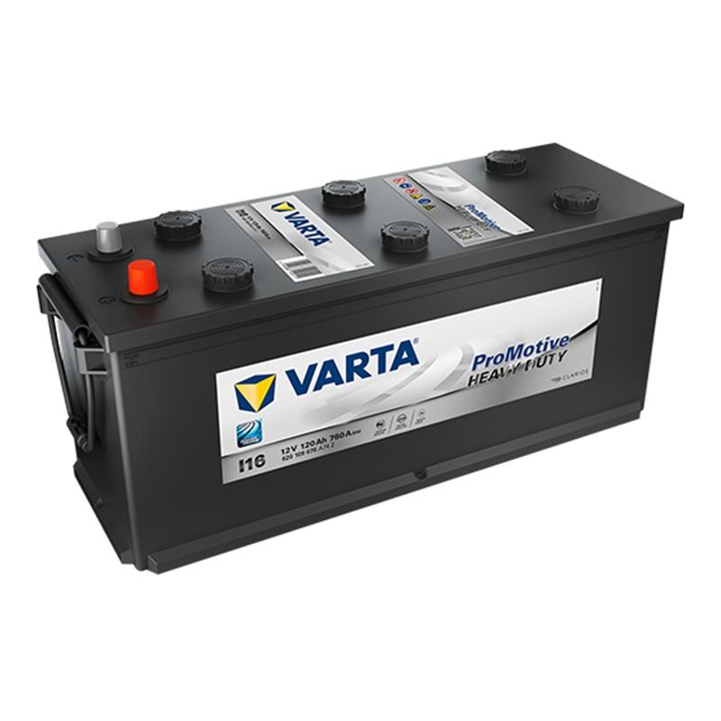 VARTA Heavy Duty PROMOTIVE BLACK I16 (620109076) 120Ah akumuliatorius