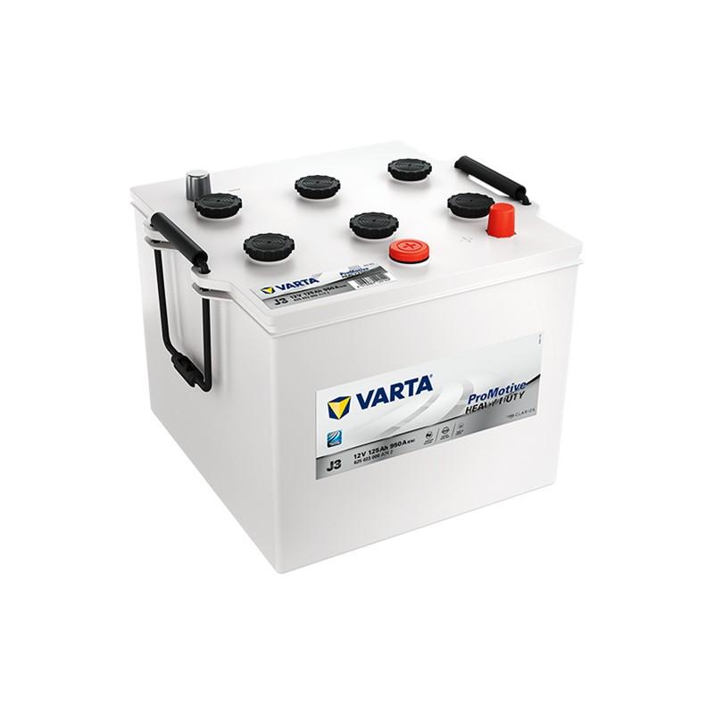 VARTA Heavy Duty J3 (62523) 125Ah akumuliatorius