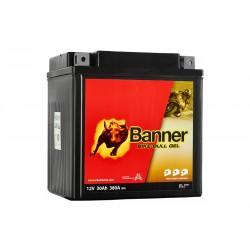 Banner GEL 30Ah 360A Bike Bull akumuliatorius 12V 168x127x177mm