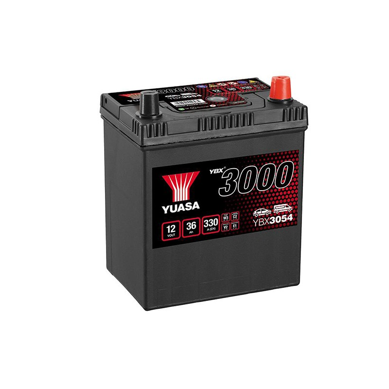 YUASA YBX3054 36Ач 330A аккумулятор