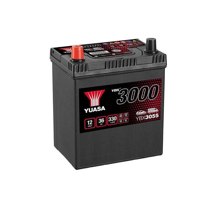 YUASA YBX3055 36Ah 330A akumuliatorius