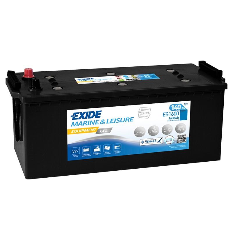 EXIDE GEL ES1600 140Ah battery