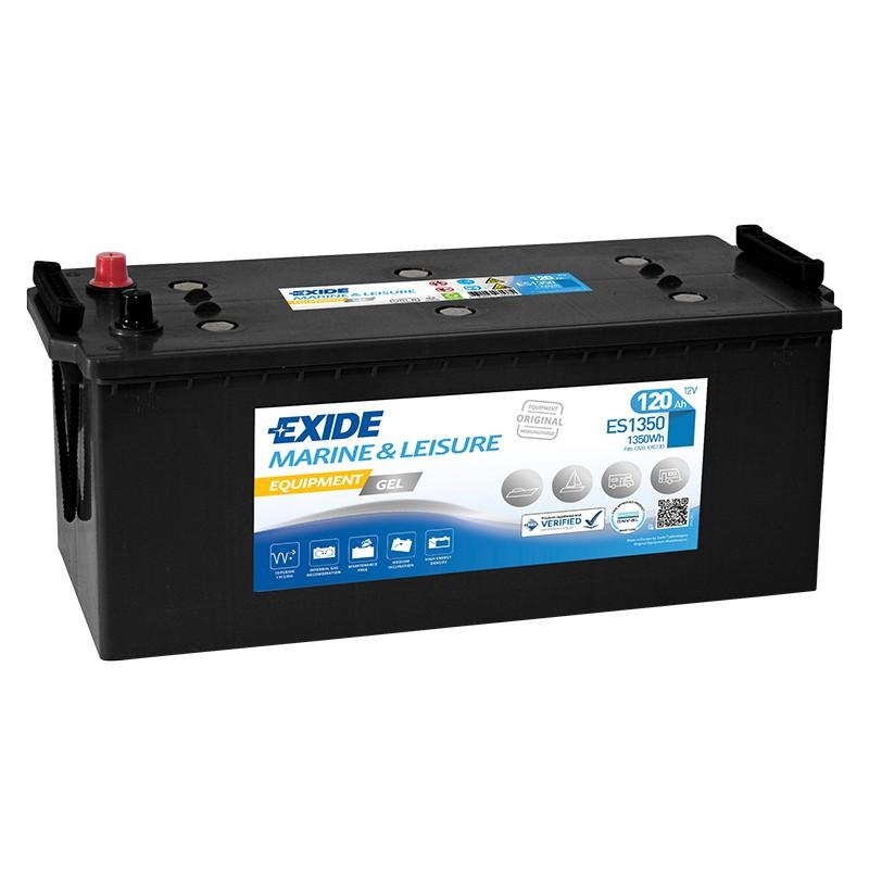 EXIDE GEL ES1350 120Ah battery