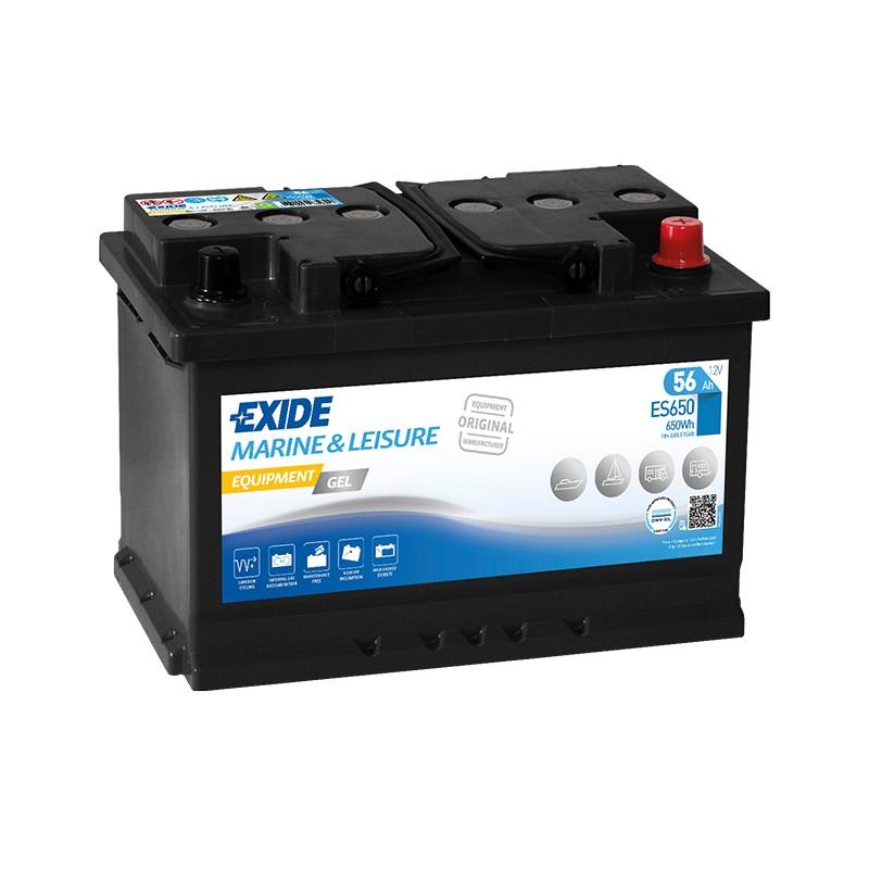 EXIDE GEL ES650 56Ah battery