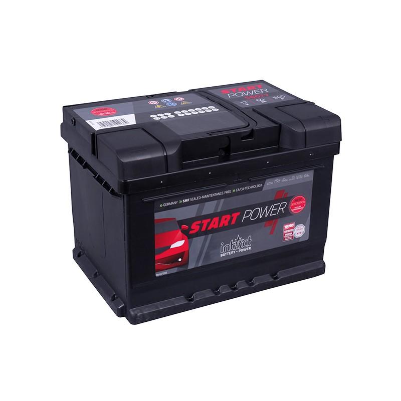 intAct 56077 (560409054) 60Ah akumuliatorius