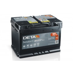 DETA DA770 77Ач аккумулятор