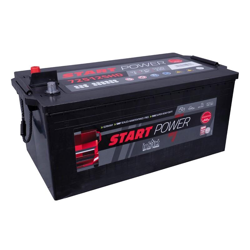 intAct 72512 SHD 225Ач 1150A (EN) аккумулятор